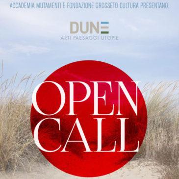 Dune | Open Call per Residenza d'Artista