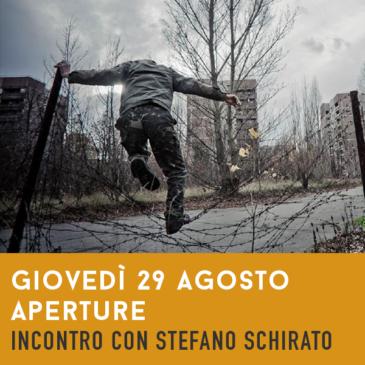 Giovedì 29 Agosto 21.30: Aperture,  con Stefano Schirato