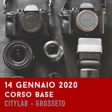 Corso Base di Fotografia – 14 Gennaio 2020