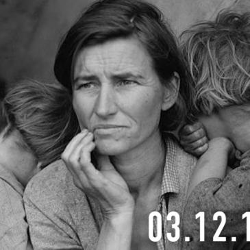 La FotoCosa del Giorno |  Migrant Mother, di Dorothea Lange, e la Grande Depressione