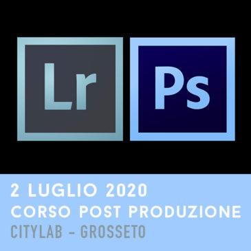 Corso Post Produzione – 2 Luglio 2020
