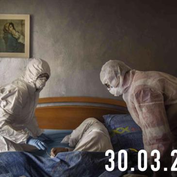 La FotoCosa del Giorno | L'epidemia attraverso gli occhi di Alex Majoli e Fabio Bucciarelli