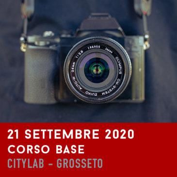 Corso Base di Fotografia – Settembre 2020